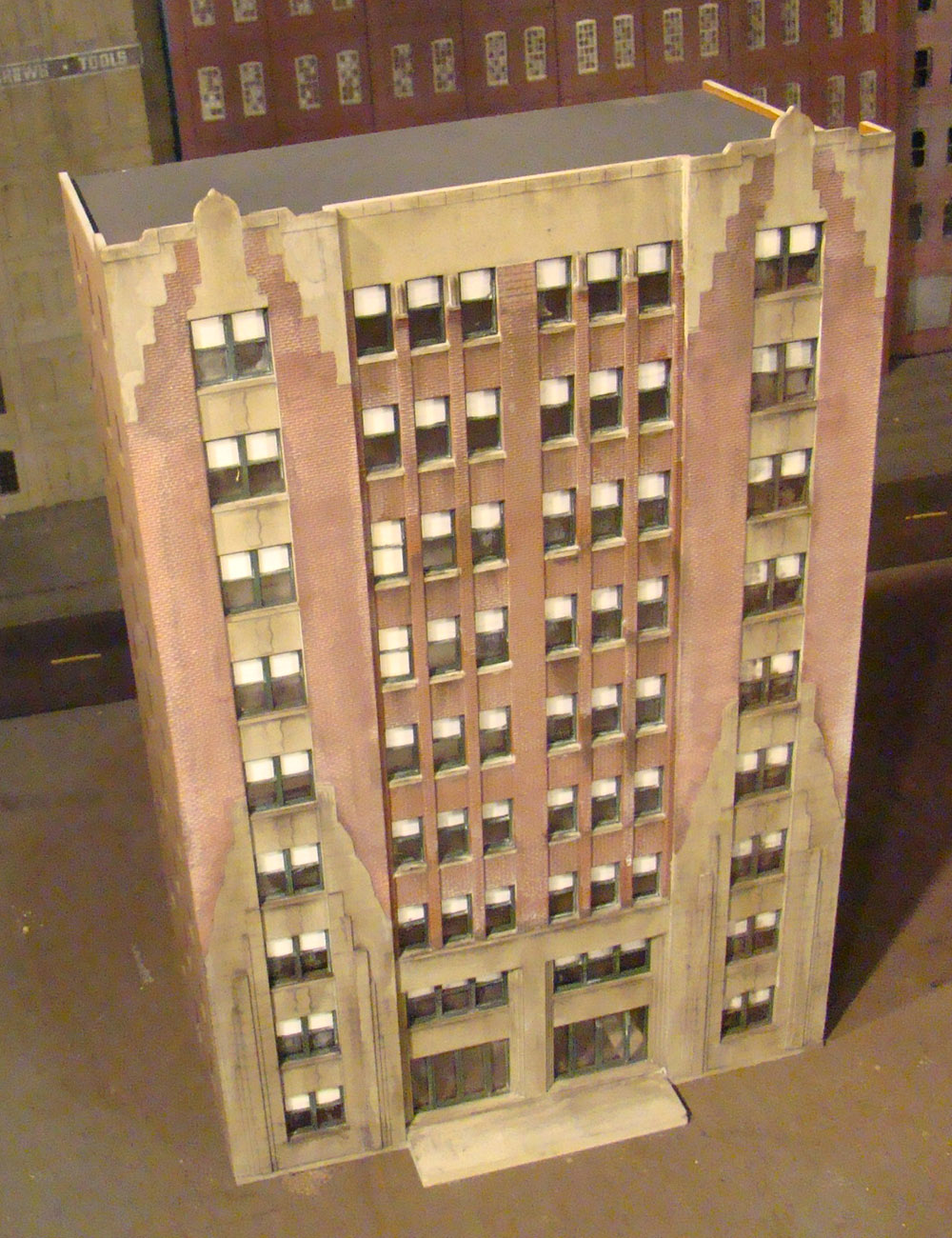 Ho Scale High Rise Apartment Buildings