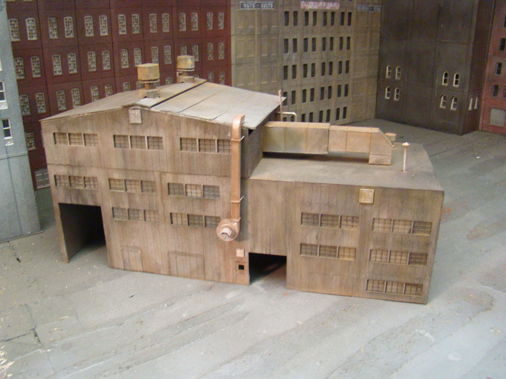 HO Scale Walthers Kitbashed Grinding Facility