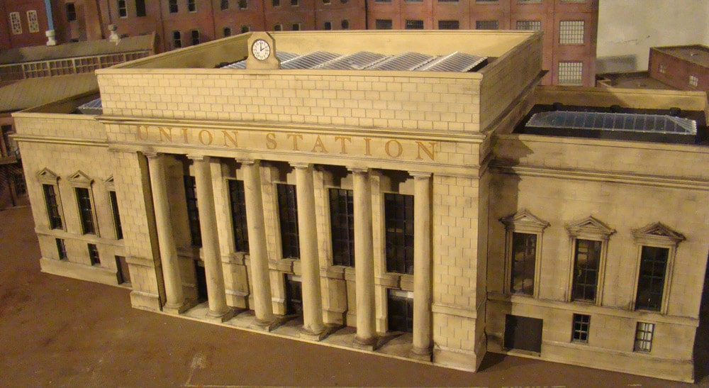 HO Scale Walthers Union Station